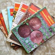 Catálogos y Libros de Monedas: NUMULITE * SABADELL NUMISMÁTICO 8 EJEMPLARES. Lote 210476257