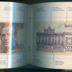 Catálogos y Libros de Monedas: NUMULITE * BANCO DE ESPAÑA BILLETE DE CINCO MIL PESETAS 5000 LIBRITO EXPLICATIVO SIN BILLETE. Lote 210531621