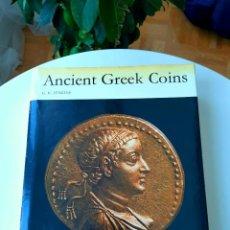 Catálogos y Libros de Monedas: GREEK COINS: JENKINS.1972+1990 (2004).AND THEIR VALUES. SEAR 1978+1994. Y SUS ENEMIGO CAYÓN. 2013. Lote 213183781