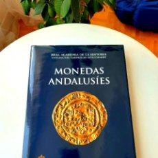 """Catálogos y Libros de Monedas: MONEDAS AL-ANDALUS 2011(+CD). ANDALUSÍES 2000. ESTUDIOS N. ARÁBIGO-HISPANA 2001. """"CONDE"""" 1804. RAH. Lote 213335015"""