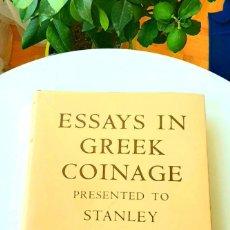 Catálogos y Libros de Monedas: ESSAYS GREEK ROBBINSON 1968 & ESSAYS ROMAN SHUTHERLAND 1978. Y. COINS OF GREEK SICILY 1966. JENKINS. Lote 213352677