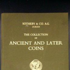 Catálogos y Libros de Monedas: CATALOGO ANTIGUO MONEDAS ROMANAS. Lote 215622616