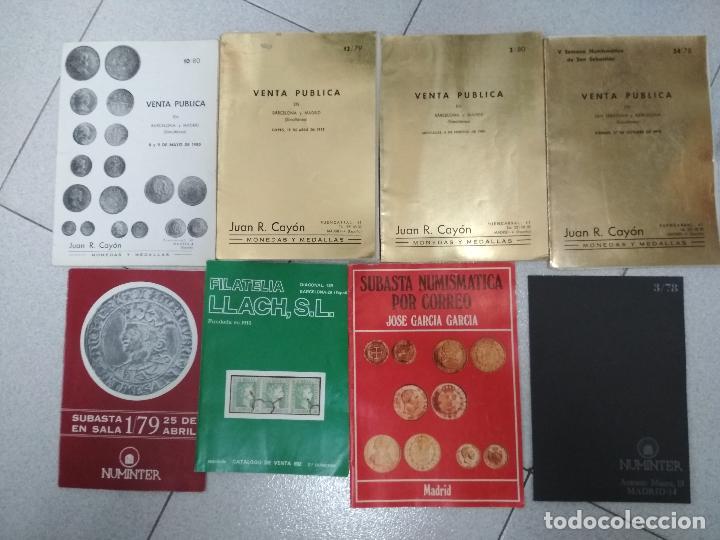 Catálogos y Libros de Monedas: LOTE 41 CATALOGOS SUBASTAS AÑOS 70/80 Y REVISTAS NUMISMATICA 2004/2005. VARIOS. - Foto 5 - 215629263
