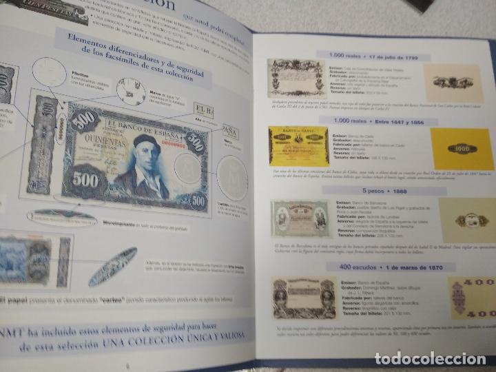 Catálogos y Libros de Monedas: 2 LIBROS EL PAPEL DE LA PESETA. EL PAIS/AGUILAR. - Foto 2 - 215661760