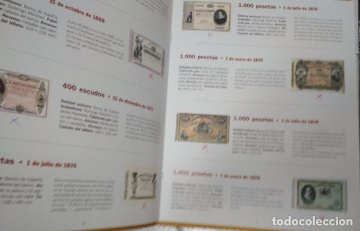 Catálogos y Libros de Monedas: 2 LIBROS EL PAPEL DE LA PESETA. EL PAIS/AGUILAR. - Foto 3 - 215661760