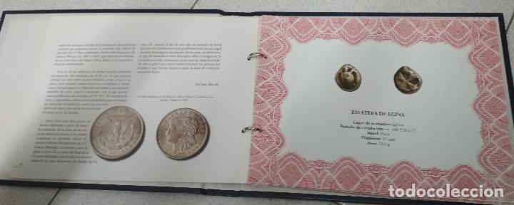 Catálogos y Libros de Monedas: 25 SIGLOS DE PATRIMONIO NUMISMATICO. Album y fichas. - Foto 2 - 215663330