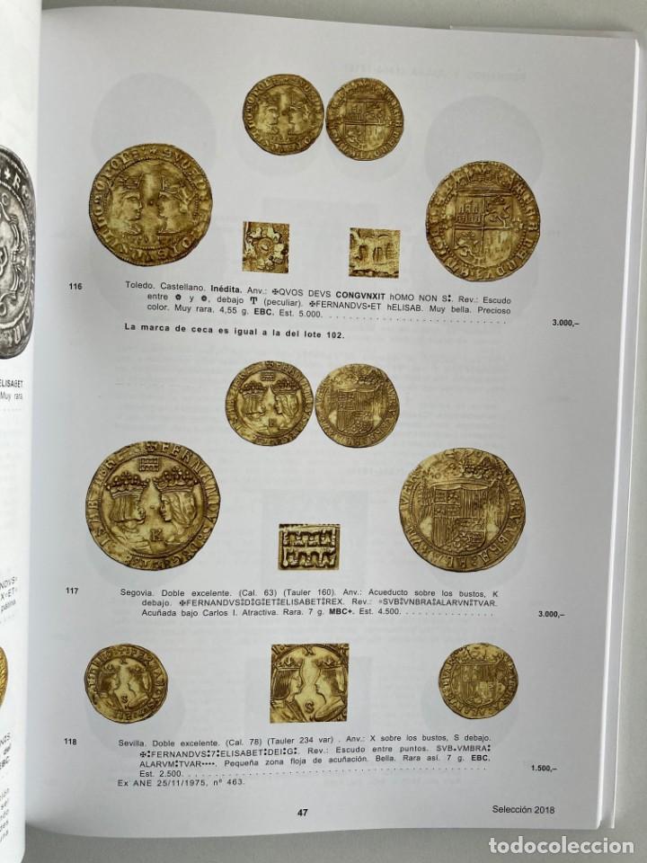 Catálogos y Libros de Monedas: SELECCION DE 500 MONEDAS, MEDALLAS Y BILLETES AUREO 8 MARZO 2018 - Foto 3 - 215947940