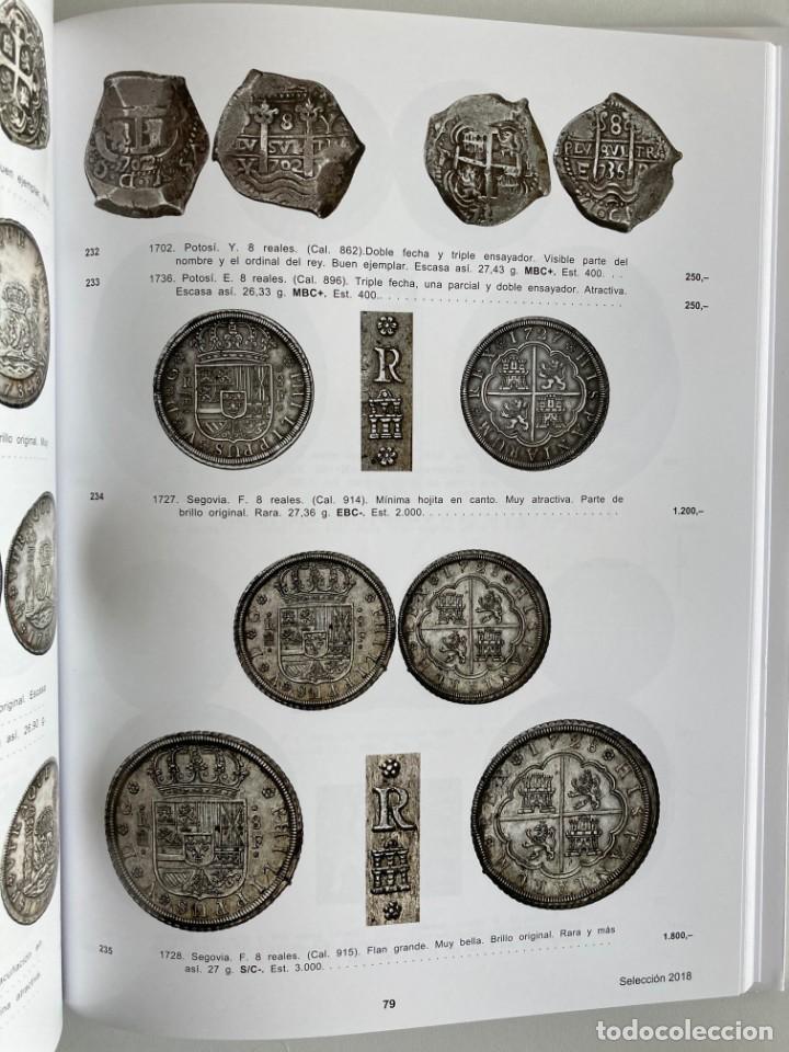 Catálogos y Libros de Monedas: SELECCION DE 500 MONEDAS, MEDALLAS Y BILLETES AUREO 8 MARZO 2018 - Foto 4 - 215947940