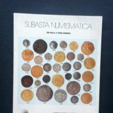 Catálogos y Libros de Monedas: A615.- AUREO - 5 DE MARZO DE 2003.- MONEDAS Y BILLETES DE PORTUGAL - MONEDAS DE 1 REAL - MONEDAS ESP. Lote 216410398