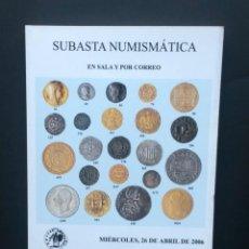 Catálogos y Libros de Monedas: A611.- AUREO - 26 DE ABRIL DE 2006.- MONEDAS DE LA GUERRA DELS SEGADORS - REALES DE A OCHO. Lote 216411916