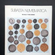 Catálogos y Libros de Monedas: A601.- AUREO - 16 Y 17 OCTUBRE DE 2001 - CAPITULO DEDICADO A MONEDAS DE LA CAPITANA. Lote 216541591
