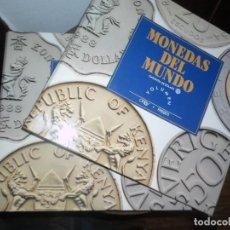 Catálogos y Libros de Monedas: MONEDAS DEL MUNDO - ORBI FABBRI - DOS CARPETAS INCOMPLETAS - HISTORIA MONEDA Y COLECCIONISMO. Lote 216691972
