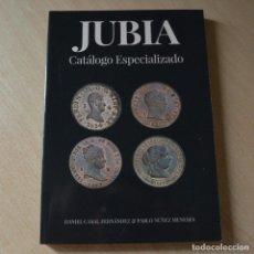 Catálogos y Libros de Monedas: JUBIA. CATÁLOGO ESPECIALIZADO - NUEVO - ÍNFIMOS DEFECTOS IMPRENTA EN PORTADA. Lote 235598195