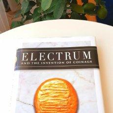 Catálogos y Libros de Monedas: ELECTRUM: WHITE GOLD2020-12. LINZALONE2011. CROESUS'2000. BODENSTEDT1981. WEIDAUER1975. JENKINS1963. Lote 216999113
