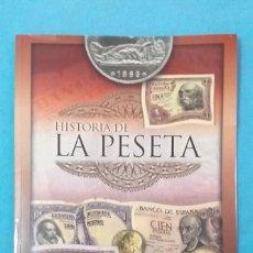 """Catálogos y Libros de Monedas: LIBRO """"HISTORIA DE LA PESETA"""" NUEVO Y VACÍO.. Lote 218056808"""