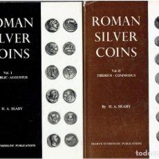 Catálogos y Libros de Monedas: ROMAN SILVER COINS -H,A, SEABY. Lote 218676273