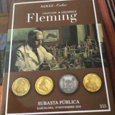 Catálogos y Libros de Monedas: CATÁLOGO ÁUREO & CALICÓ. COLECCIÓN FLEMING. VOLUMEN II.. Lote 221797310