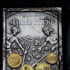 Cataloghi e Libri di Monete: CATALOGO SUBASTA AUREO. COLECCIÓN TOMAS PRIETO (MEDALLAS).VOL.II. NOVIEMBRE 2020. Lote 221799042