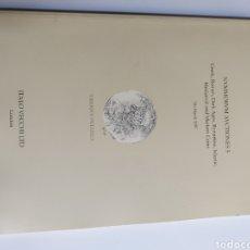 Catálogos y Libros de Monedas: NVMMORVM AVCTIONES 5 GREEK ROMÁN DARK BYZANTINE ISLAMIC 1977. Lote 221888643