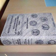 Catálogos y Libros de Monedas: CATÁLOGO MONEDAS ESPAÑOLAS,DESDE LOS VISIGODOS HASTA EL QUINTO CENTENARIO,CAYON. Lote 222107170