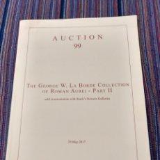 Catalogues et Livres de Monnaies: ARS CLASSICA COLECCIÓN GEORGE W. LABORDE PARTE II ÁUREOS ROMA. Lote 223258577