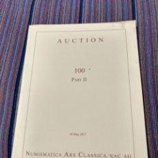 Catalogues et Livres de Monnaies: ARS CLASSICA SUBASTA 100. PARTE II.. Lote 223259803