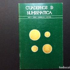 Catálogos y Libros de Monedas: CUADERNO DE NUMISMÁTICA. AÑO II. ENERO 1980. NÚMERO 20. Lote 223411726