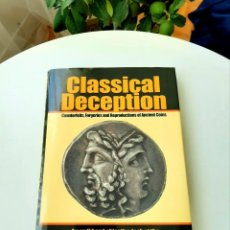 Catálogos y Libros de Monedas: CURSO NUMISMÁTICA BELTRAN1950 (1987).CLASSICAL DECEPTION SAYLES2001. BECKER COUNTERFEITER HILL1995. Lote 213133286