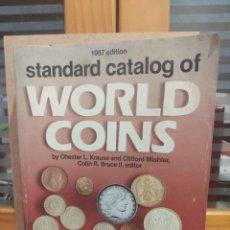 Catálogos y Libros de Monedas: STANDARD CATÁLOGO OFICIAL WORLD COINS 1.987.. Lote 225081387