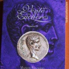 Catálogos y Libros de Monedas: MAISON PALOMBO - SUBASTA 19 CATÀLOGO 12-12-2020 MONEDA ANTIGUA Y MODERNA. Lote 225152415