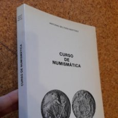 Catalogues et Livres de Monnaies: CURSO DE NUMISMÁTICA. 1950 ANTONIO BELTRÁN MARTÍNEZ. Lote 225797102