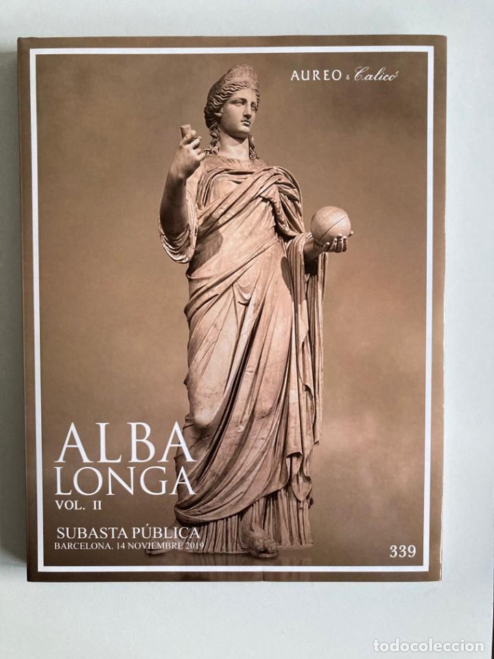 ALBA LONGA VOL II SUBASTA 339 AUREO 14-11-19 (Numismática - Catálogos y Libros)