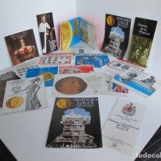Catalogues et Livres de Monnaies: GRAN LOTE 20 CATALOGOS DE MONEDAS COLLECIONISMO / RARO / NUMISMATICA IBERIA S.A. / MUY BUEN ESTADO. Lote 226455225