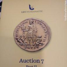 Catalogues et Livres de Monnaies: CATALOGO MONEDA ROMANA.LEU NIMISMTIK.. Lote 226817925