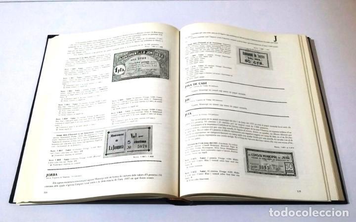"""Catálogos y Libros de Monedas: CATÁLOGO """"EL PAPER MONEDA CATALÀ 1936-1939"""" FIRMADO POR EL AUTOR ANTONI TURRÓ,MUY RARO - Foto 4 - 230829780"""