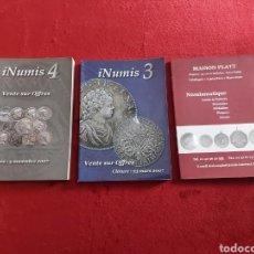 Catálogos y Libros de Monedas: CATALOGO DE SUBASTA NUMISMATICA EN FRANCES/CATALOGO DE MONEDAS EXTRANJERAS/ROMANAS, MEDIEVALES,...... Lote 231713840