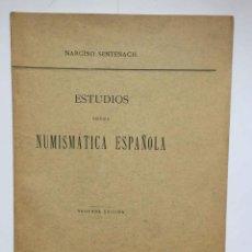 Catálogos y Libros de Monedas: ESTUDIOS SOBRE NUMISMÁTICA ESPAÑOLA: MARAVEDÍ (SENTENACH, 1909) ¡ORIGINAL! COLECCIONISTA. Lote 232689215