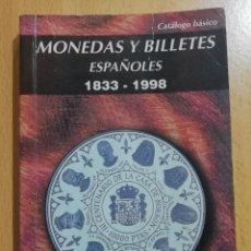 Cataloghi e Libri di Monete: LIBRO MONEDAS Y BILLETES 1833 1998 NUMISMATICA CARLOS FUSTER.. Lote 233573080