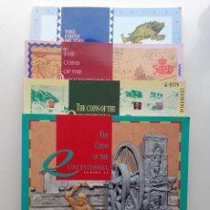 Catálogos y Libros de Monedas: THE COINTS OF QUINCENTENNIAL. SERIES I, II, II, Y IV - FABRICA NACIONAL DE MONEDA Y TIMBRE. Lote 234398015