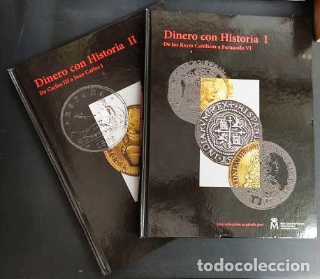 DINERO CON HISTORIA (2 TOMOS). MONEDA-160 (Numismática - Catálogos y Libros)