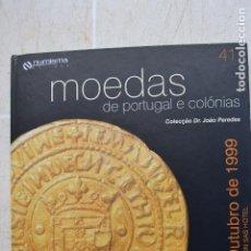 Catálogos e Livros de Moedas: 1999 CATÁLOGO CAPA DURA SUBASTAS NUMISMA -COLECCIÓN DR JOÃO PAREDES. Lote 235959960