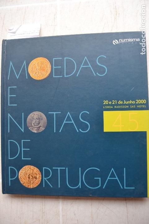 2000 CATÁLOGO CAPA DURA SUBASTAS NUMISMA - MONEDAS Y NOTAS DE PORTUGAL (Numismática - Catálogos y Libros)