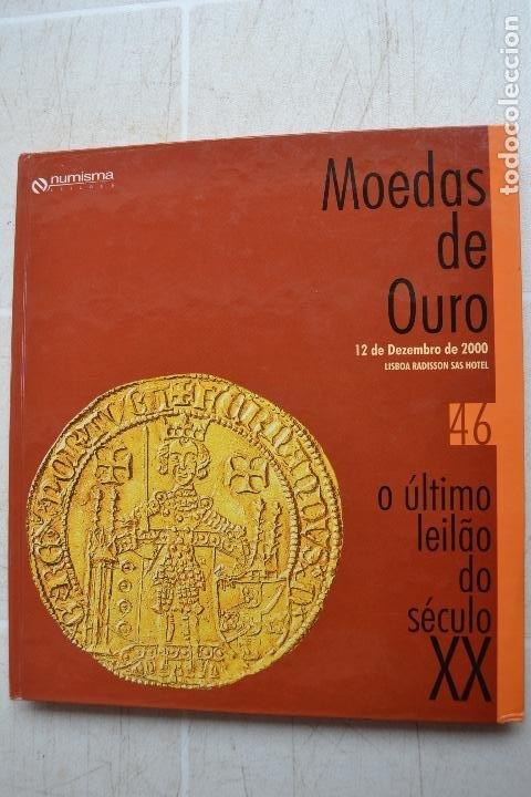 2000 CATÁLOGO CAPA DURA SUBASTAS NUMISMA - MONEDAS DE ORO (Numismática - Catálogos y Libros)