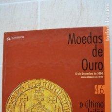 Catálogos e Livros de Moedas: 2000 CATÁLOGO CAPA DURA SUBASTAS NUMISMA - MONEDAS DE ORO. Lote 235961415
