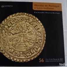 Catálogos e Livros de Moedas: 2003 CATÁLOGO CAPA DURA SUBASTAS NUMISMA - MONEDAS DE PORTUGAL LUSO INDIANAS COLECCIÓN SEARA ANTIGA. Lote 235963020