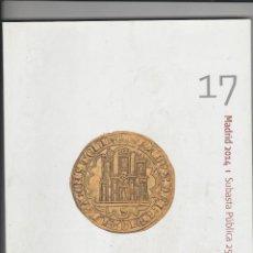 Catálogos y Libros de Monedas: CATALOGO TARKIS-SUBASTA PUBLICA 25 DE JUNIO 2014-IBERCOIN 17. Lote 237035070