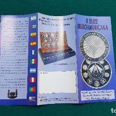 Catalogues et Livres de Monnaies: II SERIE IBEROAMERICANA - ARGENTINA CUBA ECUADOR... (1994) FNMT. Lote 237126745