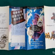 Catalogues et Livres de Monnaies: MONEDAS CONMEMORATIVAS (1997) FNMT - III SERIE IBEROAMERICANA. Lote 237131930