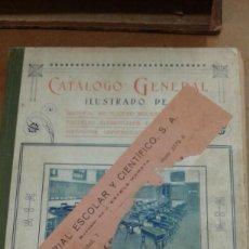Catálogos y Libros de Monedas: CATALOGO GENERAL Y MATERIAL MOBILIARIO PARA TODA CLASE DE CENTROS DOCENTES. Lote 237299580