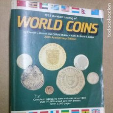 Catálogos e Livros de Moedas: CATALOGO DE MONEDAS MUNDIALES -WORLD COINS -AÑO 1993 -. Lote 242074790